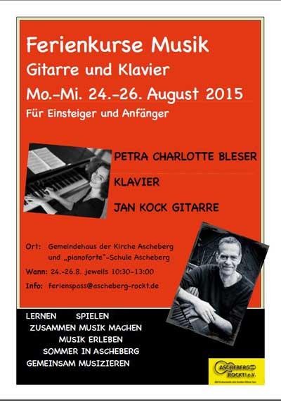 Ascheberg rockt immer: Kostenlose Musikschnupperkurse für  Kids
