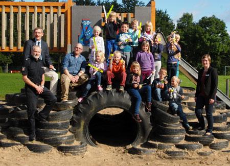 Heide – Klassenzimmer Straße: ABC-Schützen sicher unterwegs auf dem Schulweg