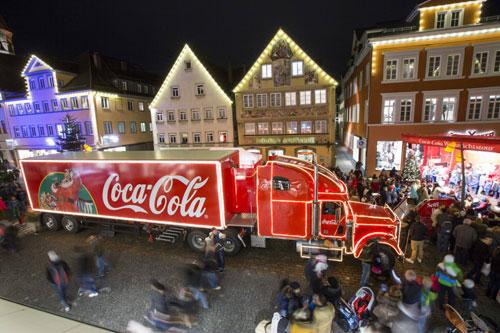 Coca-Cola Weihnachtsaktion – Mach anderen eine Freude. Schenk Zeit mit dir