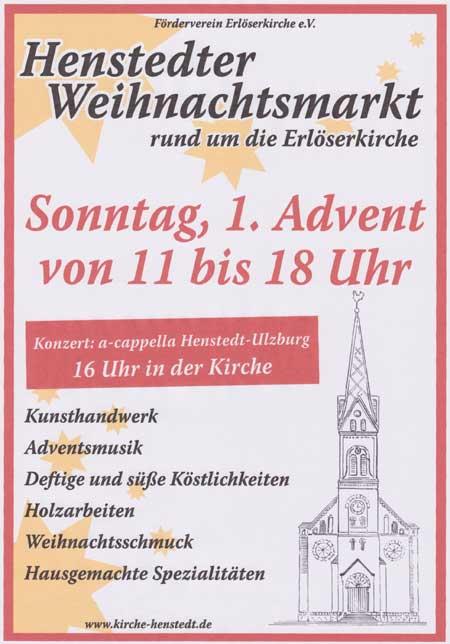 14. Henstedter Weihnachtsmarkt