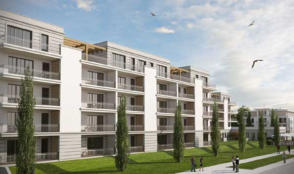 Vertriebsstart für Hotelprojekt von W&N und Upstalsboom