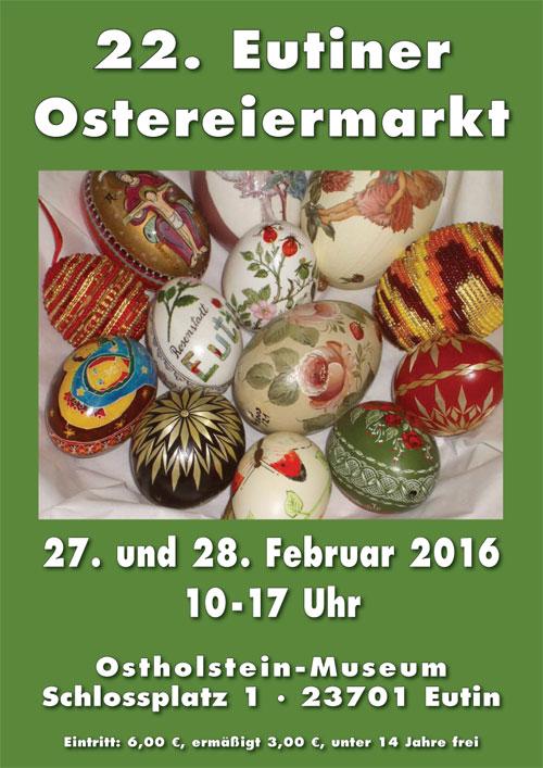 22. Eutiner Ostereiermarkt im Ostholstein-Museum