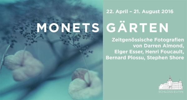 """Schloss Eutin zeigt """"Monets Gärten"""""""