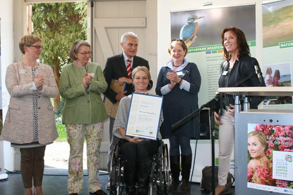 Der Naturpark Holsteinische Schweiz feiert seinen 30. Geburtstag auf der LGS Eutin