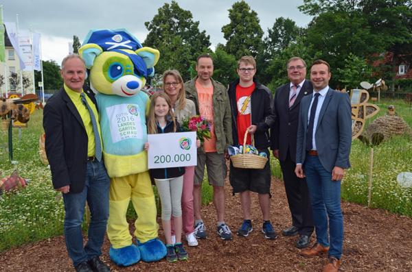 Bereits 200.000 Gäste auf der Landesgartenschau in Eutin