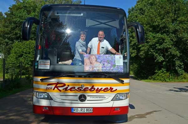 Bisher kamen 1.000 Busse zur Landesgartenschau Eutin