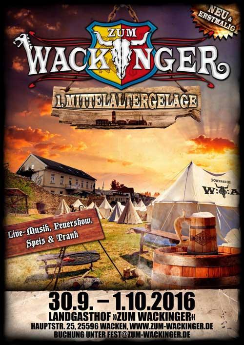 """Mittelaltergelage im """"Zum  Wackinger"""" – Wacken"""
