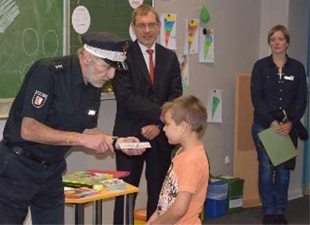 """Kreisweiter Start der Aktion """"Der sichere Schulweg"""""""