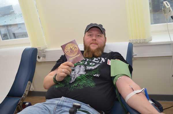 Erfolgreiche W:O:A Blutspende-Aktion in Itzehoe