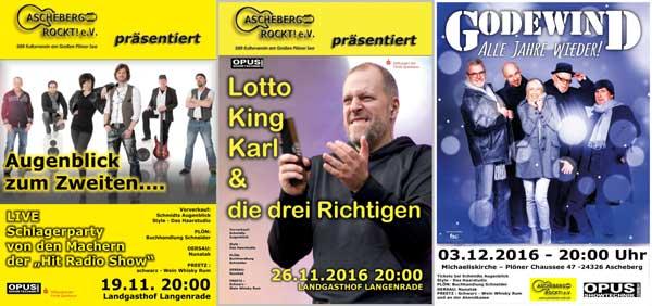Jahresendspurt in Ascheberg – Drei wunderbare Konzerte
