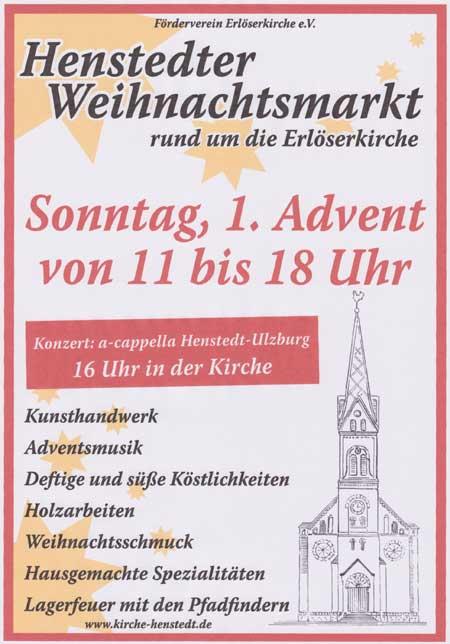 15. Henstedter Weihnachtsmarkt