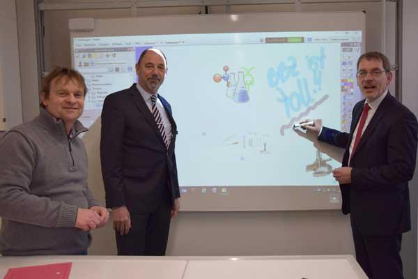 BBZ Heide erhält neue Räume für den Chemieunterricht