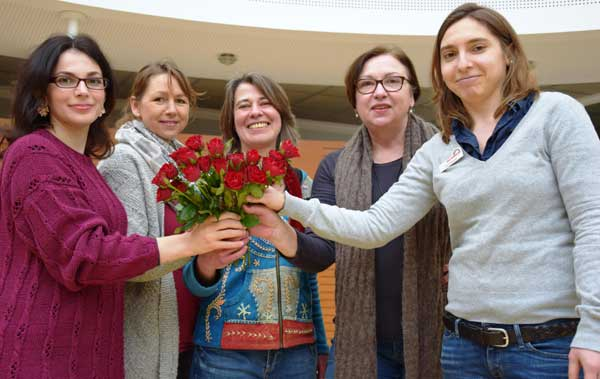 "Fest zum Internationalen Frauentag in Heide: ""Welcome, ladies!"""