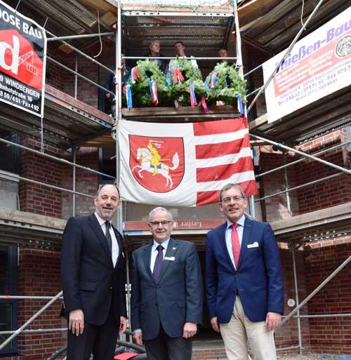 Richtfest für das Wohnheim am BBZ Meldorf