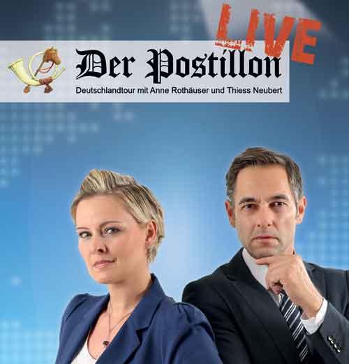 Der Postillon kommt live nach Schleswig