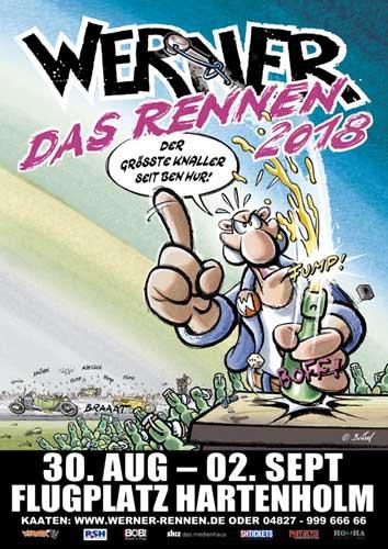 Werner – Das Rennen – Die Neuauflage 2018 in Hartenholm