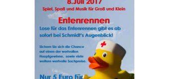 """Die """"Ascheberg Rockt!"""" Enten sind wieder los … Das """"Original Entenrennen"""""""