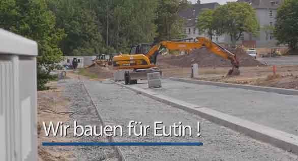 Stadt Eutin präsentiert Baustellenfilm zur Innenstadtsanierung
