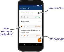 NINA Warn-App nun auch für den Kreis Dithmarschen