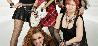 BLACK/ROSIE kommen wieder nach Ascheberg! Die wohl beste weibliche AC/DC Coverband macht Station