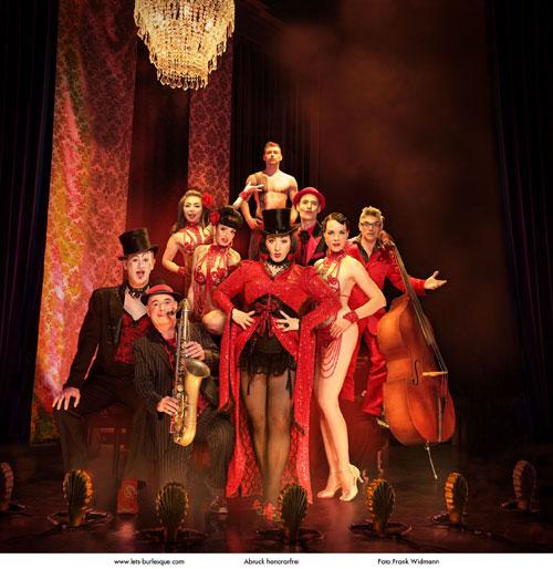 Live in der Heimat: Let's Burlesque – Europas populärste Burlesque Show