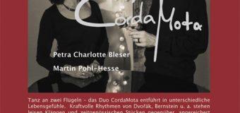 """Ascheberg Rockt ganz leise – Der Tanz des Lebens """"CordaMota"""""""
