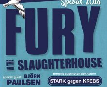 "Fury live in Brunsbüttel: Erfolgsband unterstützt Initiative ""Stark gegen Krebs"""