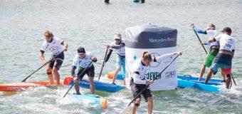 Stand Up Paddler erobern drei Tage lang Scharbeutz