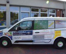 Meldorf: Werbung macht mobil: Astrid-Lindgren-Schule freut sich über neuen Kleinbus