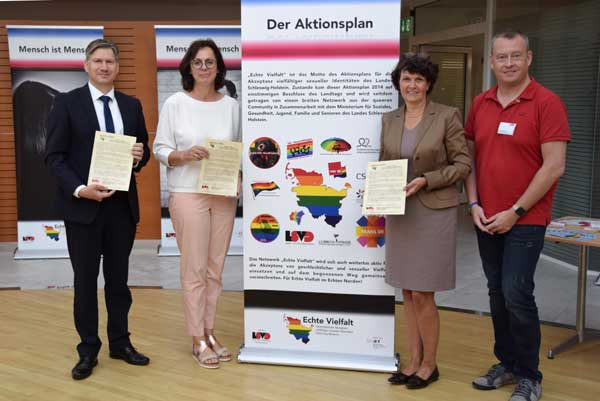 """Kreis Dithmarschen tritt dem """"Bündnis für Akzeptanz und Respekt Schleswig-Holstein"""" bei"""