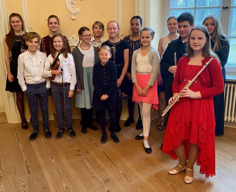Kreismusikschule Plön präsentiert Spitzenleistungen im Konzert im Prinzenhaus