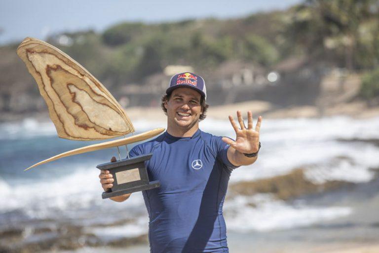 Philip Köster gewinnt auf Hawaii fünften Weltmeister-Titel