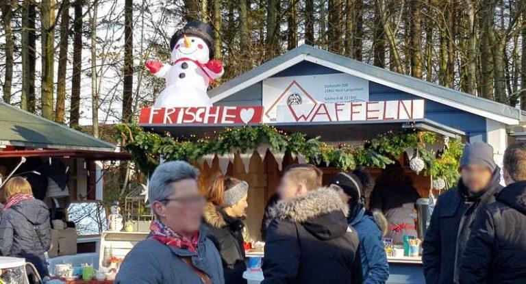 Der Weihnachtsmarkt in Wanderup