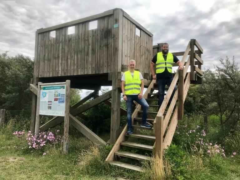 Dithmarschen: Ordnungsteam der Unteren Naturschutzbehörde im Speicherkoog unterwegs