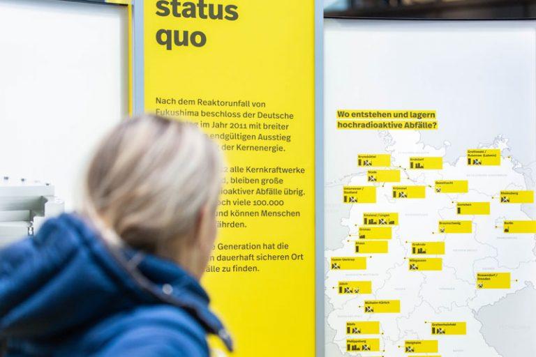 """Ausstellung """"suche:x"""" im Kreishaus Heide vom 26. bis 30. Oktober 2020: Hintergründe zur Endlagersuche"""