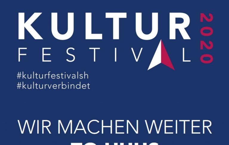 Kulturfestival SH: Es geht weiter! Events ab Dezember im Stream