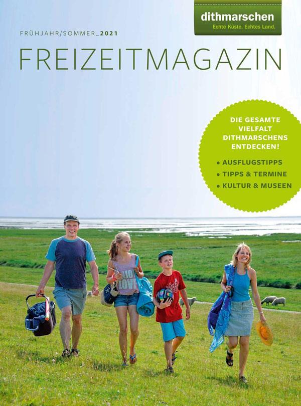 Freizeitmagazin und -karte wecken Vorfreude auf die Sommerzeit in Dithmarschen