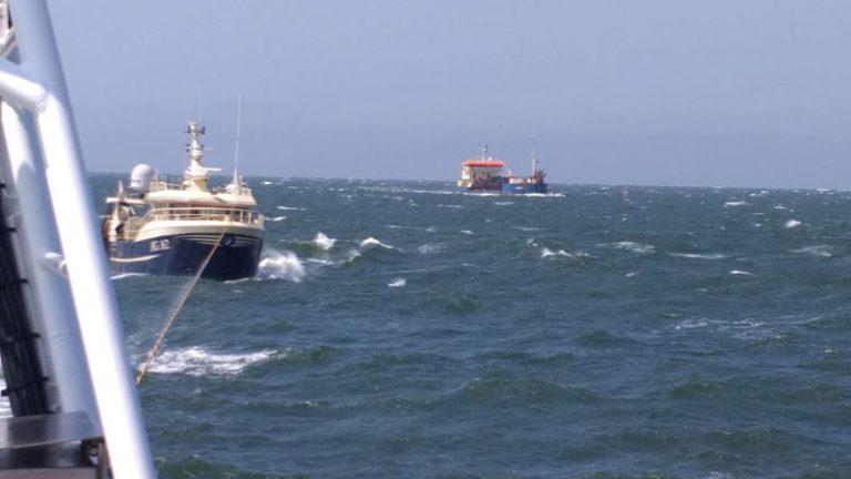 Seenotretter im Einsatz für dänische Fischer