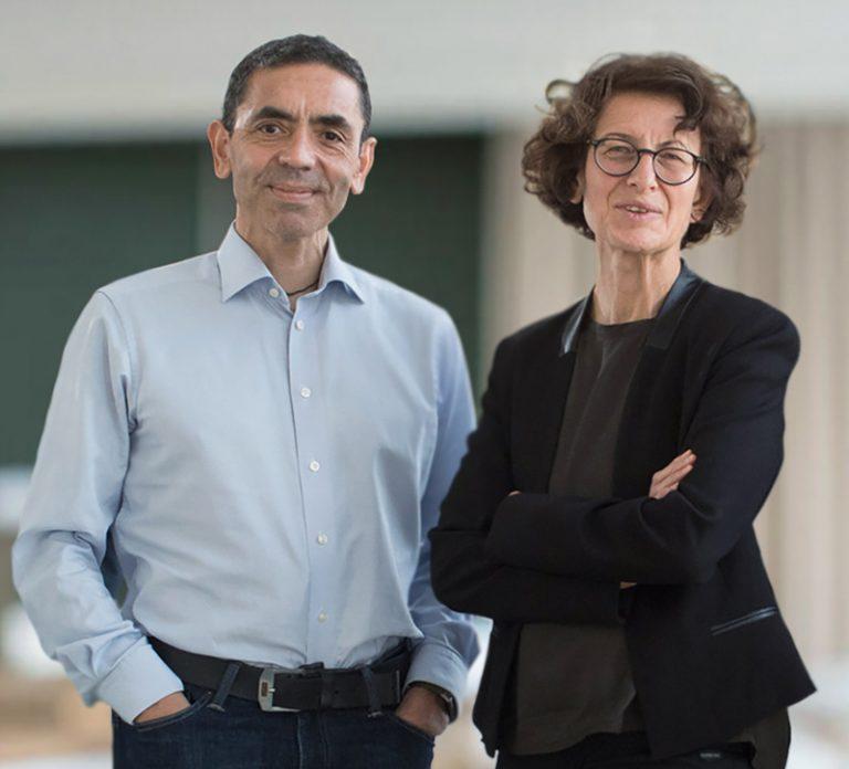 Deutscher Gründerpreis für BioNTech-Mitgründer Dr. Özlem Türeci und Prof. Dr. Uğur Şahin